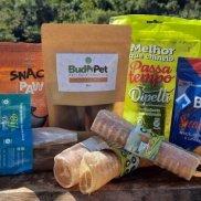 Kit Básico - 1 Pct Biju + 1 Pct Passa Tempo P + 3 Traqueias Bov + 1 Pct Pé de Galinha + 1 Pct Coração Bov + 1 Snack Bark